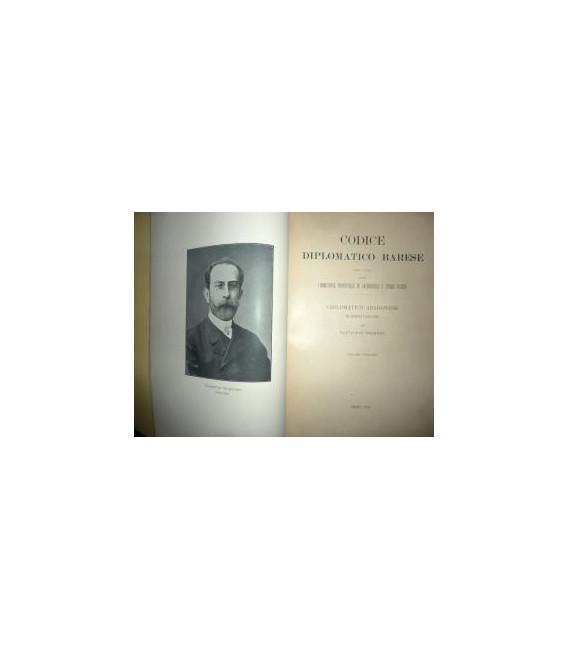 Commissione Provinciale di Archeologia e Storia Patria CODICE DIPLOMATICO BARESE - DIPLOMATICO ARAGONESE RE ALFONSO I ( 1435 - 1458 ) Volume XI