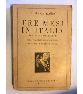 TRE MESI IN ITALIA