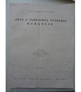 ARTE ED INDUSTRIA VETRARIA MURANESE