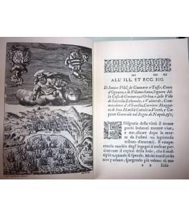 Salerno assediato dai Francesi del Dottor Fabritio Pinto. In Napoli. Per Luca Antonio di Fusco M.DC.LII