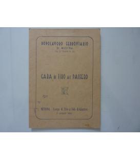 DOPOLAVORO FERROVIARIO DI MESSINA - GARA TIRO AL PASSERO Messina - Campo di Tiro a Volo di Ganzirri  7 Luglio 1963