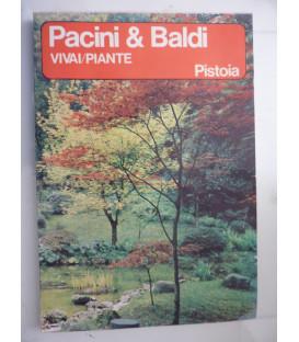 PACINI  & BALDI VIVAI PIANTE PISTOIA Novembre 1965