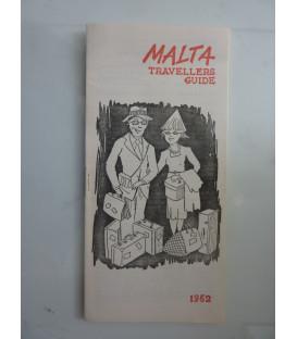 MALTA TRAVELLERS GUIDE 1962