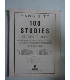 HANS SITT 100 STUDIES