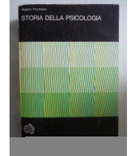 STORIA DELLA PSICOLOGIA Universale Scientifica Boringhieri