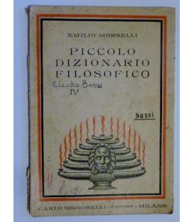 PICCOLO DIZIONARIO FILOSOFICO