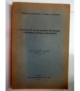 Datazioni K - Ar di rocce granitoidi della Barbagia e dell'Ogliastra (  Sardegna centro - orientale )