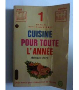 CUISINE POUR TOUTE L'ANNEE'
