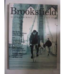 BROOKSFIELD SEASON JOURNAL JULY 1996 Fall- Winter Collection