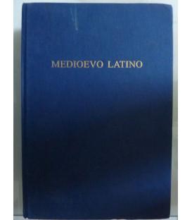 MEDIOEVO LATINO Bollettino bibliografico della cultura europea da Boezio a Erasmo ( secoli ) VI - XV, Volume XXXIII