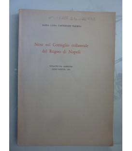 Note sul Consiglio Collaterale del Regno di Napoli