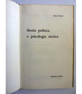 STORIA POLITICA E PSICOLOGIA STORICA