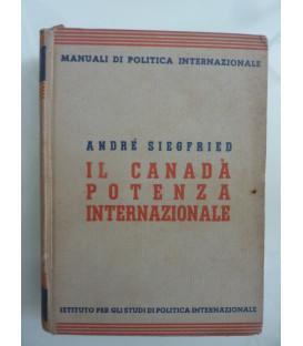 Manuali di Politica Internazionale, 4 IL CANADA' POTENZA INTERNAZIONALE