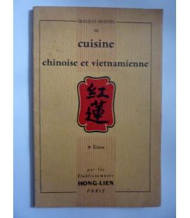 AA.VV. QUELQUES RECETTES DE CUISINE CHINOISE ET VIETNAMIENNE  Par l les Etablissments HON - LIEN Paris 1957