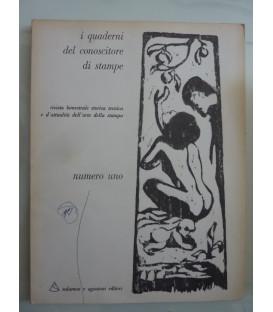 I Quaderni del conoscitore di stampe NUMERO UNO 1970